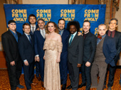 The band of Come From Away rocks the red carpet.