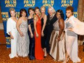 Who run the world? The talented women of Come From Away pose for a sweet group shot.