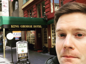 Looks like Hamilton tour star Rory O'Malley found his castle in San Fran! When can we visit, King Rorge?(Photo: Twitter.com/RoryOMalley)