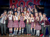 """Mel C's in the band! The English singer recently joined London's School of Rock frontman David Fynn and the kid band to perform the Spice Girls hit """"Wannabe.""""(Photo: Craig Sugden)"""