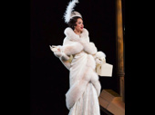 ASilbs looks beyond glam! Alexandra Silber is covered in furs for Murder on the Orient Express, and we're on board.(Photo: Twitter.com/alsilbs)