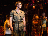 Alistair Brammer as Chris in Miss Saigon.