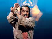 Jon Jon Briones as The Engineer in Miss Saigon.