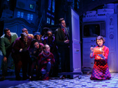 Phillipa Soo as Amelie and the cast of Amelie.