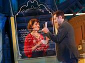 Phillipa Soo as Amelie and Adam Chanler-Berat as Nino in Amelie.
