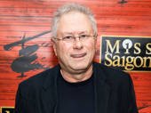 Composing legend Alan Menken attends Miss Saigon's Broadway opening.