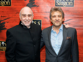 Miss Saigon scribes Claude-Michel Schönberg  and Alain Boublil get together.