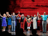Bravo! Miss Saigon's fantastic company bows on opening night.