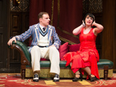 Dave Hearn and Charlie Russell in The Play That Goes Wrong.