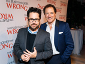 The Play That Goes Wrong producers J.J. Abrams and Kevin McCollum hit the red carpet.