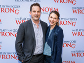 Two-time Tony winner Sutton Foster and her husband Ted Griffin step out for a Broadway opening.