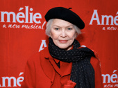 Tony winner Ellen Burstyn attends the Broadway opening of Amélie.