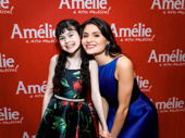 Mini Pippa! Amélie's Savvy Crawford and Phillipa Soo take a super sweet pic.