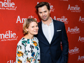 Broadway fave alert! Celia Keenan-Bolger and Andrew Rannells snap a pic.