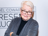 Indecent scribe Paula Vogel takes a photo.