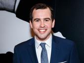 Present Laughter's Matt Bittner is all smiles for his Broadway debut.