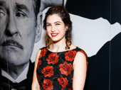 Present Laughter's Tedra Millan hits the red carpet.