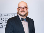 Hand to God scribe Rob Askins attends the Present Laughter opening to support director Moritz von Stuelpnagel.