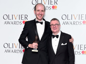 Angels in America's Nathan Lane presented Jack Thorne with the award for Best New Play for Harry Potter And The Cursed Child.(Photo: Getty Images)