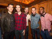 The gents of Anastasia get together: Constantine Germanacos, Johnny Stellard, Dustin Layton, Wes Hart and James A. Pierce III.