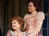 Laura Linney as Birdie Hubbard and Francesca Carpanini as Alexandra Giddens.