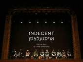 The cast of Indecent.