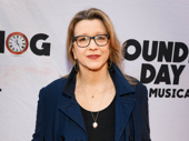 Three-time Tony nominee Linda Emond attends the Broadway opening of Groundhog Day.