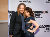 Matilda reunion! Queen Lesli Margherita snaps a pic with Matilda and Groundhog Day songwriter Tim Minchin.