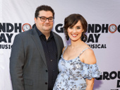 Saturday Night Live favorite Bobby Moynihan and his wife Brynn O'Malley are ready for Groundhog Day.