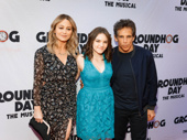 Emmy winner and screen fave Ben Stiller attends the Broadway opening of Groundhog Day with his wife Christine Taylor and their daughter Ella Olivia.