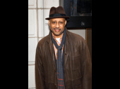 Tony winner Ruben Santiago-Hudson hits the red carpet.