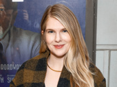 Tony nominee Lily Rabe attends the Broadway opening of The Little Foxes.