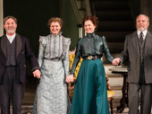 The Little Foxes' Richard Thomas, Cynthia Nixon, Laura Linney and Michael McKean take their opening night curtain call.