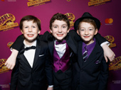 A triple treat! Charlie & the Chocolate Factory's Jake Ryan Flynn, Ryan Sell and Ryan Foust are all smiles for their Broadway debuts.