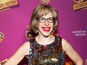 Charlie & the Chocolate Factory funny gal Jackie Hoffman sparkles and shines on the red carpet.