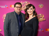Saturday Night Live's Bobby Moynihan and his wife Brynn O'Malley step out.