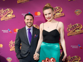 Charlie & the Chocolate Factory choreographer Joshua Bergasse and Sara Mearns step out.
