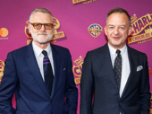 Charlie & the Chocolate Factory's set and costume designer Mark Thomson and guest hit the red carpet.
