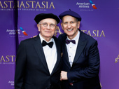 Hats off to Anastasia scribe Terrence McNally and his husband and producer Tom Kirdahy.