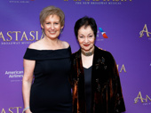 Tony nominee Liz Callaway, who voiced the singing voice of Anastasia in the 1997 film, and Lynn Ahrens, who wrote songs for both the film and the Broadway musical, reunite.