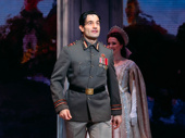 The dashing Ramin Karimloo takes in the applause.