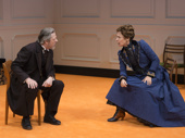 Chris Cooper and Laurie Metcalf in A Doll's House, Part 2 .*Photo of Original Broadway Cast
