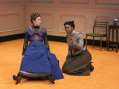 Laurie Metcalf and Condola Rashad in A Doll's House, Part 2.*Photo of Original Broadway Cast