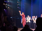 Bandstand's Beth Leavel takes her opening night curtain call.