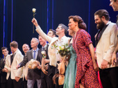 Congrats to the cast of Bandstand on a big brassy Broadway opening!