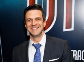 Four-time Tony nominee Raul Esparza snaps a pic.