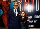 Broadway legend alert! Tommy Tune and Bernadette Peters strike a pose.