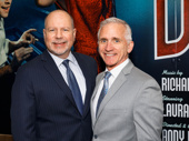 Bandstand is officially open on Broadway! Todd Schmidt and Mark S. Hoebee, the managing directors of Paper Mill Playhouse, where the musical premiered, hit the red carpet.