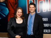 Theater couple Tom Kitt and Rita Pietropinto step out.
