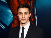 Gideon Glick suits up for Bandstand's Broadway opening.